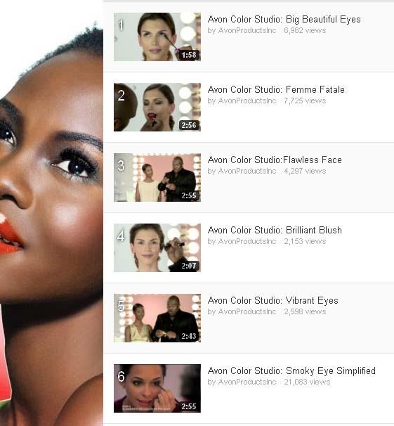 Avon Makeup Tutorial Videos